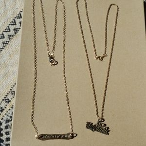 California necklaces